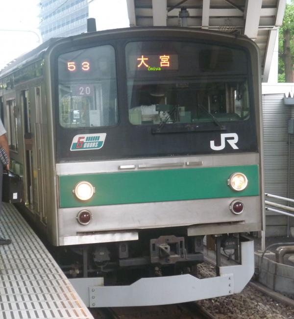 2013-07-28 JR205系ハエ20編成 大宮行き3