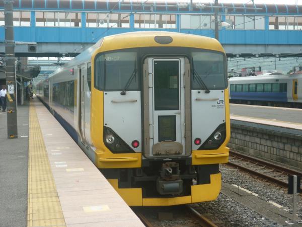 2013-07-28 JRE257系 特急わかしお号 (勝浦まで普通) 東京行き