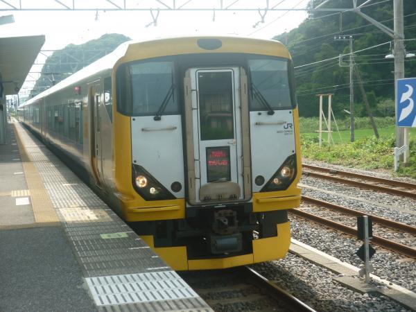 2013-07-28 JRE257系 特急わかしお号 東京行き