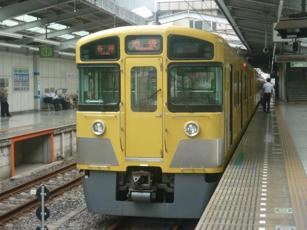 2013-08-02 西武2097F 各停池袋行き