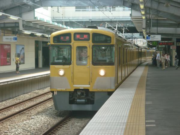 2013-08-02 西武2097F 各停飯能行き1