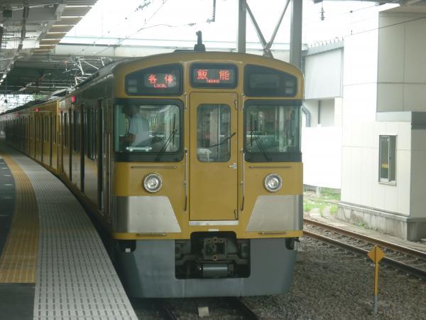 2013-08-02 西武2097F 各停飯能行き2