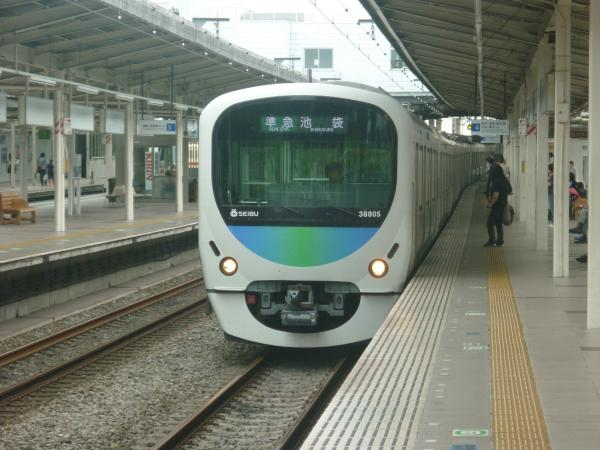 2013-08-02 西武32103F+38105F 準急池袋行き