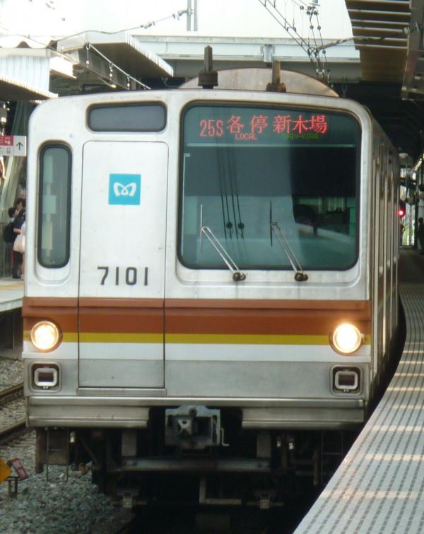 2013-08-03 メトロ7101F 各停新木場行き