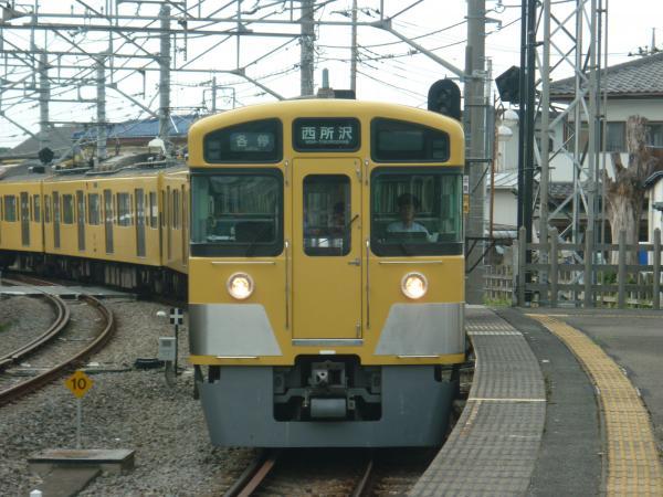 2013-08-03 西武2063F 各停西所沢行き1