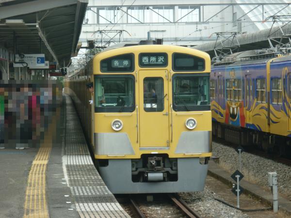 2013-08-03 西武2063F 各停西所沢行き2
