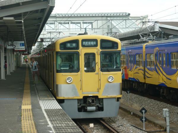 2013-08-03 西武2063F 各停西武球場前行き