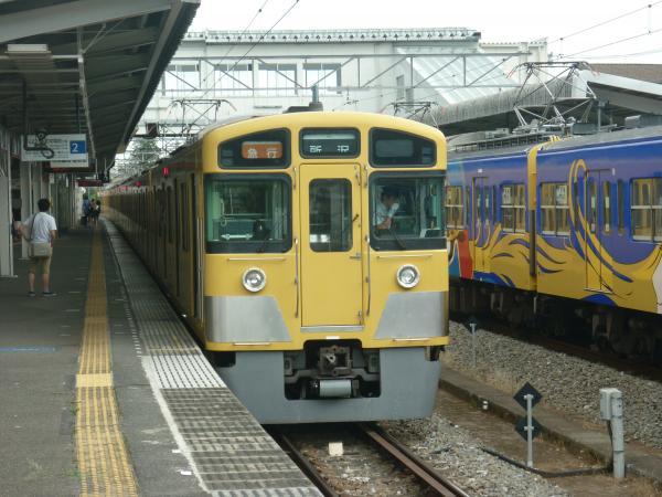 2013-08-03 西武2063F 方向幕回転中1