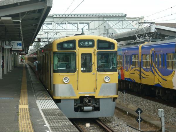 2013-08-03 西武2063F 方向幕回転中2