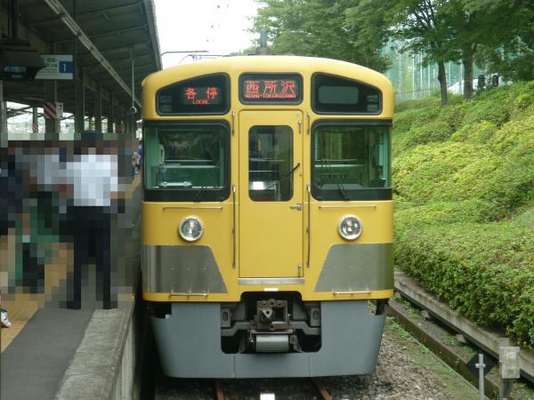 2013-08-03 西武2085F 各停西所沢行き