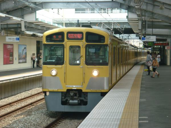 2013-08-03 西武2085F 各停西武球場前行き1