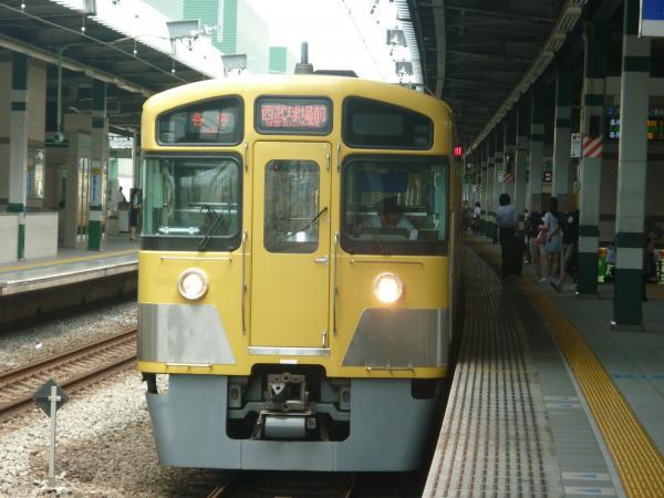 2013-08-03 西武2085F 各停西武球場前行き2