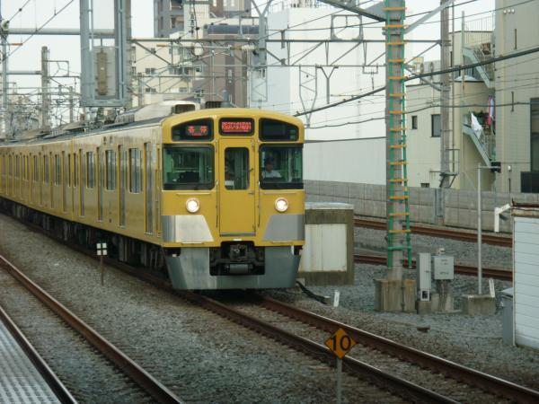 2013-08-03 西武2097F 各停西武球場前行き1