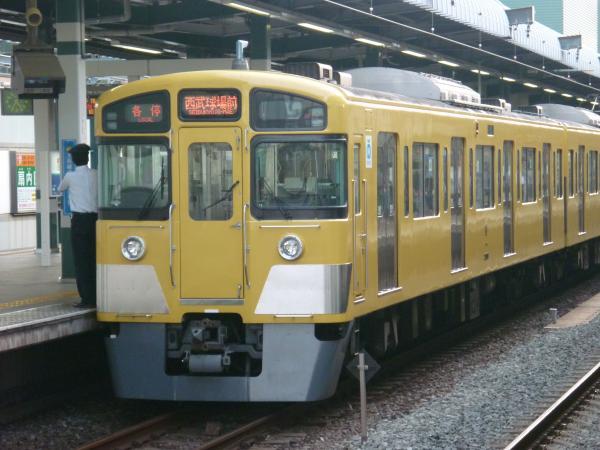 2013-08-03 西武2097F 各停西武球場前行き2