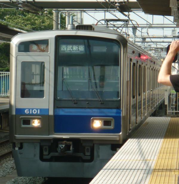2013-08-03 西武6101F 急行西武新宿行き