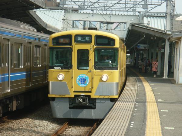 2013-08-03 西武9105F 急行飯能行き1