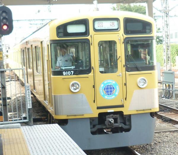 2013-08-03 西武9107F 回送