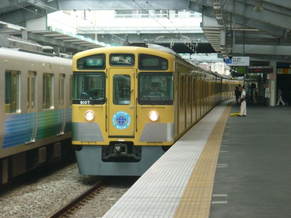 2013-08-03 西武9107F 準急所沢行き