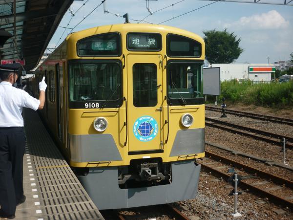 2013-08-03 西武9108F 準急池袋行き