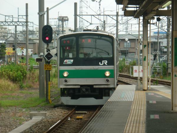 2013-08-04 埼京線205系ハエ4編成 大宮行き