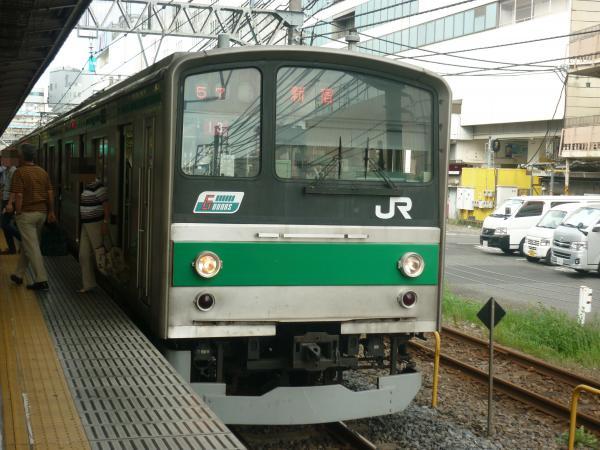 2013-08-04 埼京線205系ハエ13編成 新宿行き2