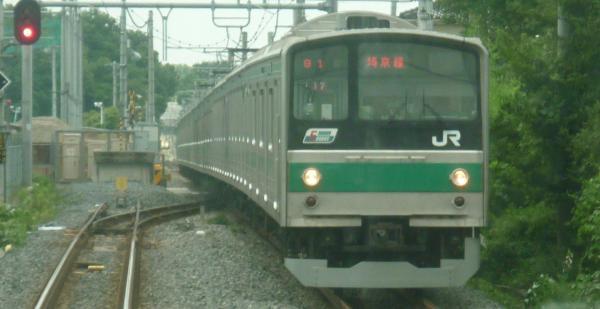 2013-08-04 埼京線205系ハエ17編成 川越行き