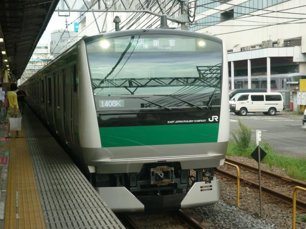 2013-08-04 埼京線E233系ハエ122編成 新宿行き