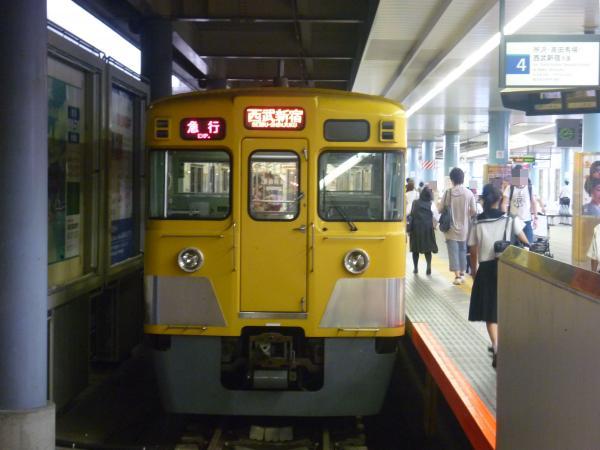 2013-08-04 西武2007F 急行西武新宿行き