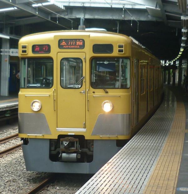 2013-08-04 西武2007F 急行本川越行き