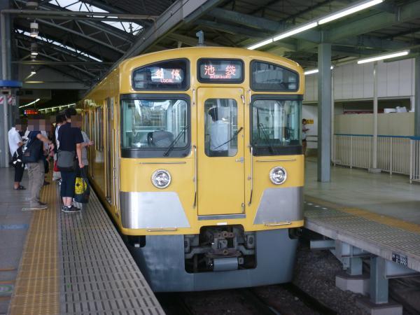 2013-08-04 西武2073F 各停池袋行き