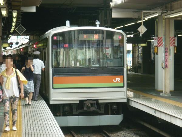 2013-08-04 八高線205系ハエ85編成 川越行き