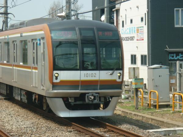 2013‐08‐09 メトロ10102F 快速急行元町・中華街行き
