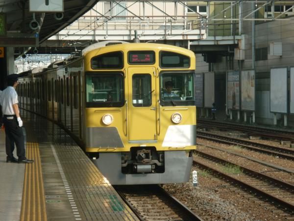 2013-08-09 西武2073F 回送