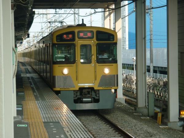 2013‐08‐09 西武2085F 各停飯能行き