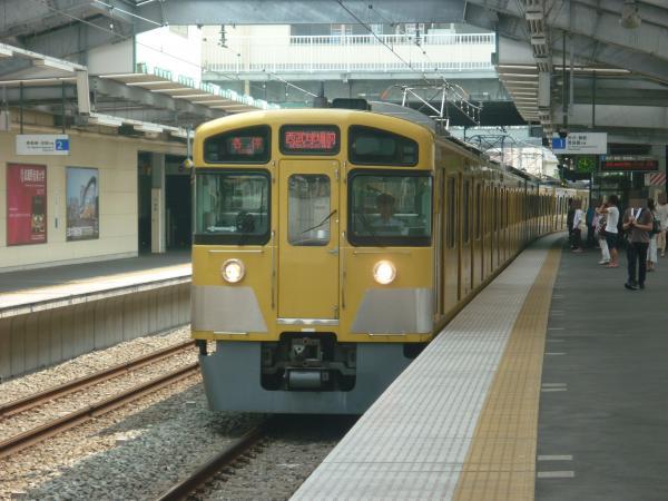 2013-08-09 西武2087F 各停西武球場前行き1