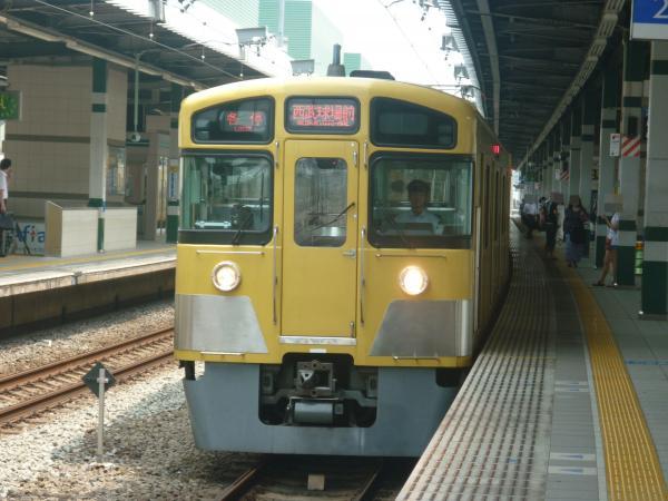 2013-08-09 西武2087F 各停西武球場前行き2