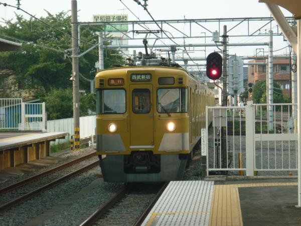 2013-08-09 西武2403F+2001F 急行西武新宿行き