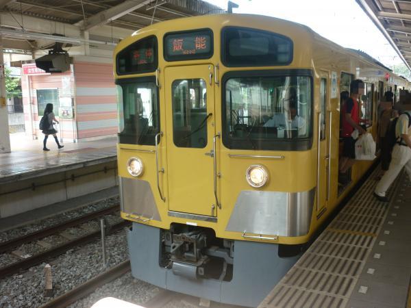 2013-08-10 西武2085F 各停飯能行き2