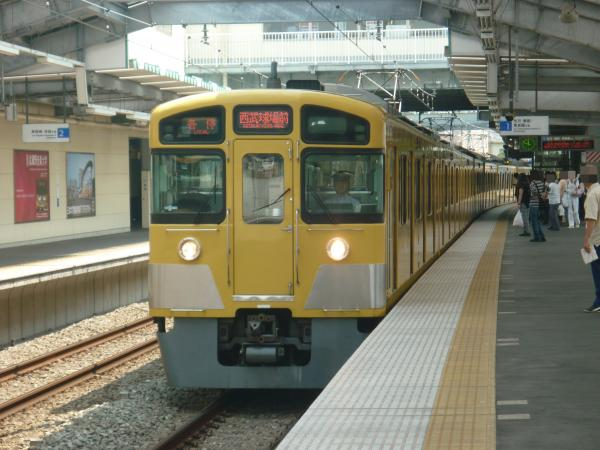 2013-08-10 西武2087F 各停西武球場前行き1