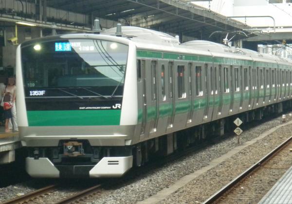 2013‐08‐11 埼京線E233系ハエ109編成 快速川越行き