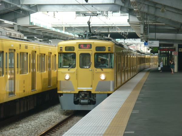 2013-08-12 西武2417F+2533F+2501F 準急所沢行き