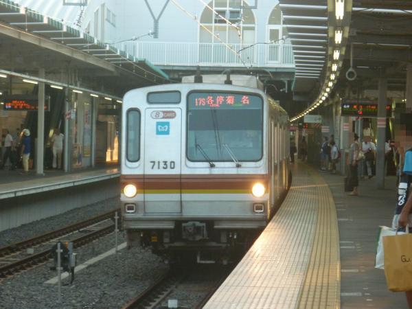 2013-08-19 メトロ7130F 各停菊名行き1