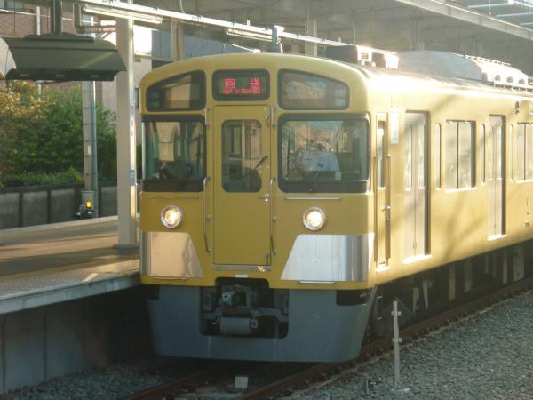 2013-08-19 西武2085F 回送