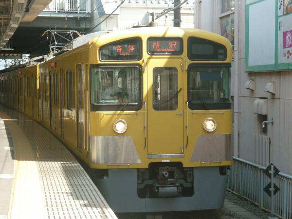 2013-08-19 西武2085F 各停所沢行き3