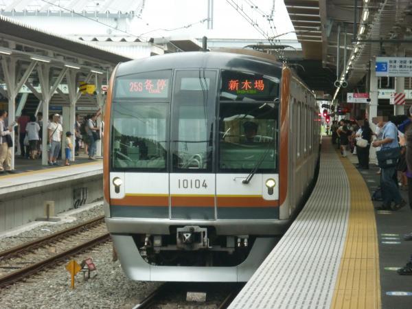 2013-08-24 メトロ10104F 各停新木場行き