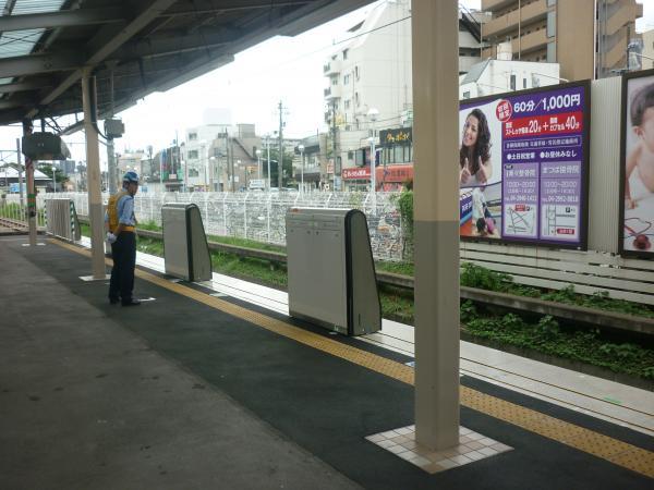 2013-08-24 新所沢駅 ホームドア2