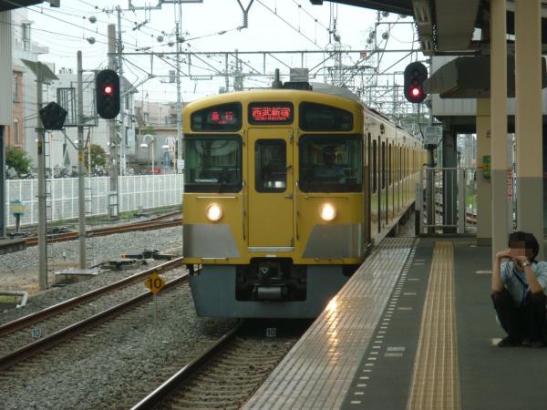 2013-08-24 西武2067F 急行西武新宿行き