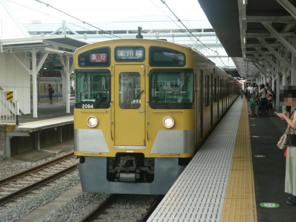 2013-08-24 西武2413F+2093F 急行本川越行き2