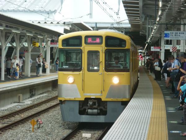 2013-08-24 西武2465F+2501F+2533F 回送