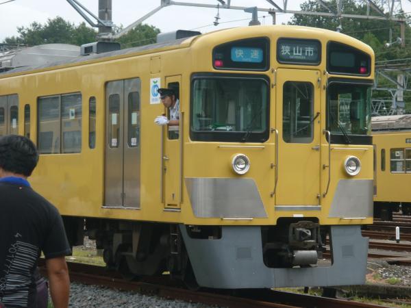2013-08-24 西武2525F 快速狭山市